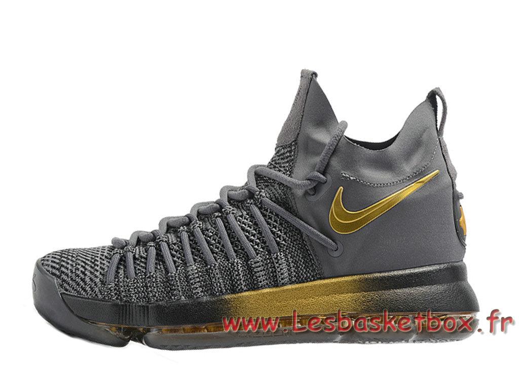 1707131003 Vendre Homme Et Officiel Femme Pour A Elite Kd Nike 9 Grisor Chaussures Basket Bas En 909139 Zoom Id11 W9IbHYeED2