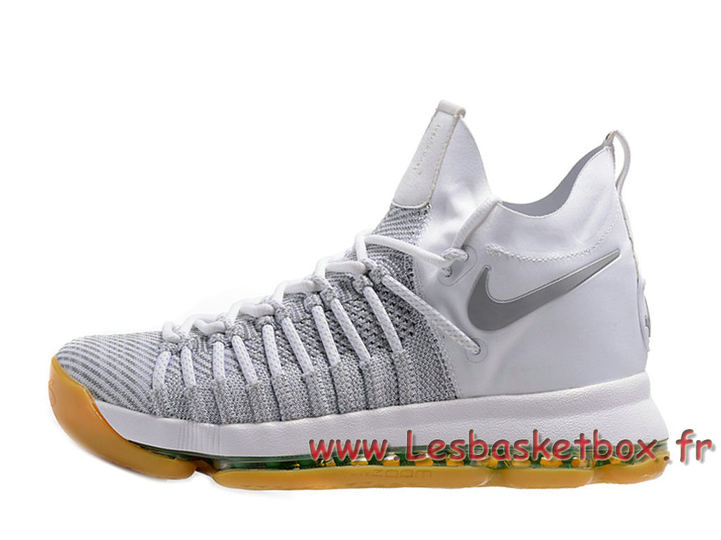 huge selection of 5659b d288d Nike Zoom KD 9 Elite ORBlanc 909139-ID12 Chaussures Nike Basket pour homme  ...
