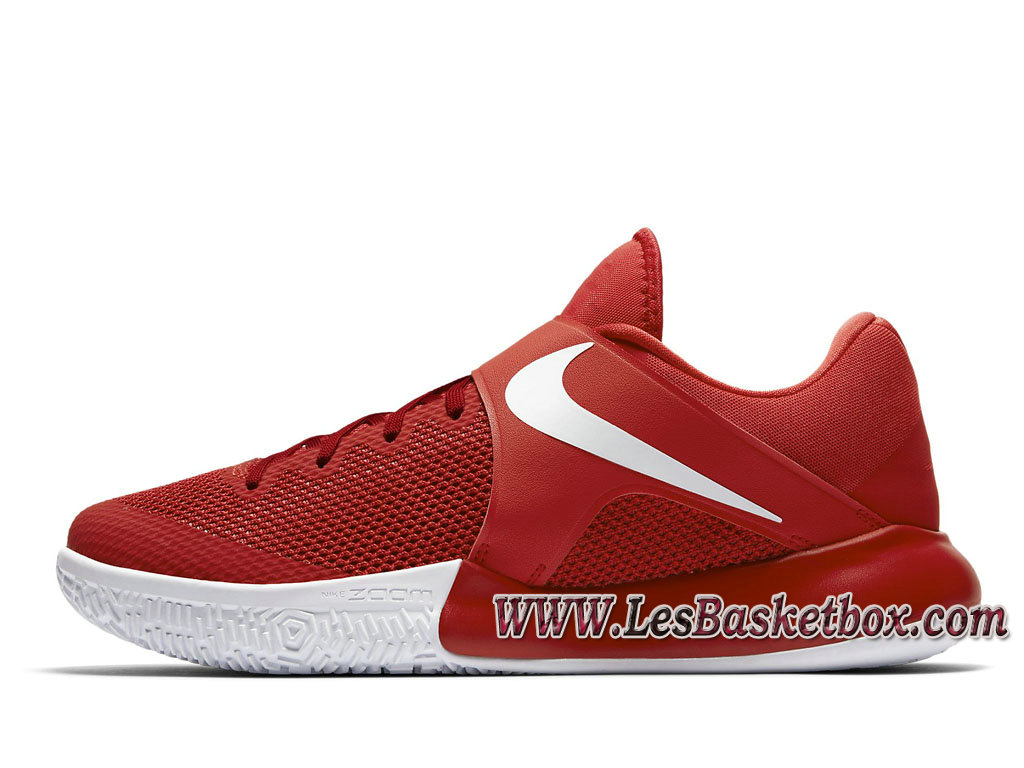 Nike Zoom Live 2017 university red 852421-606 Chaussures Nike Basket Pour Homme Rouge