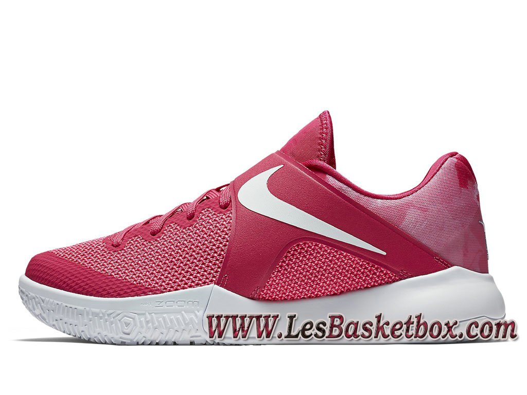 Nike Zoom Live EP Pink 852420_617 Chaussures Officiel Pas cher Pour HOmme Rose