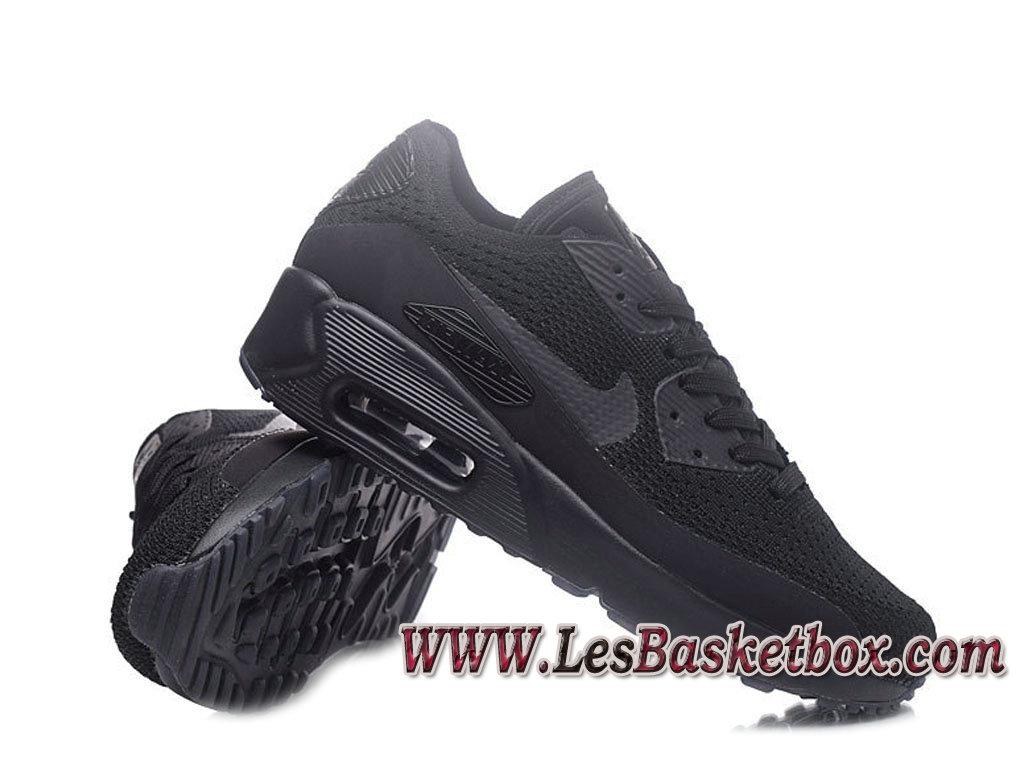 best service e07e8 75b8c ... NikeLab Air Max 90 Flyknit Noir 876320-ID2 Chaussures Nike Pas cher  Homme ...