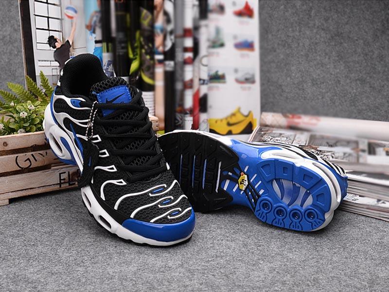 7c36d994e573b ... Nouveau Nike Air Max Tn Tn Requin Chaussures Pour Femme Noir Bleu Pas  Cher ...