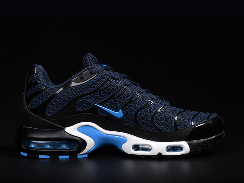 quality design 1a522 aecb8 Nouveau Nike Air Max Tn Tn Requin Chaussures Pour Homme Bleu Foncé ...