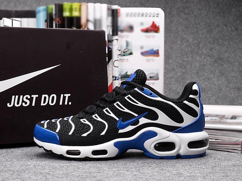 on sale 9b7f2 e03dc Nouveau Nike Air Max Tn Tn Requin Chaussures Pour Homme Noir Bleu ...