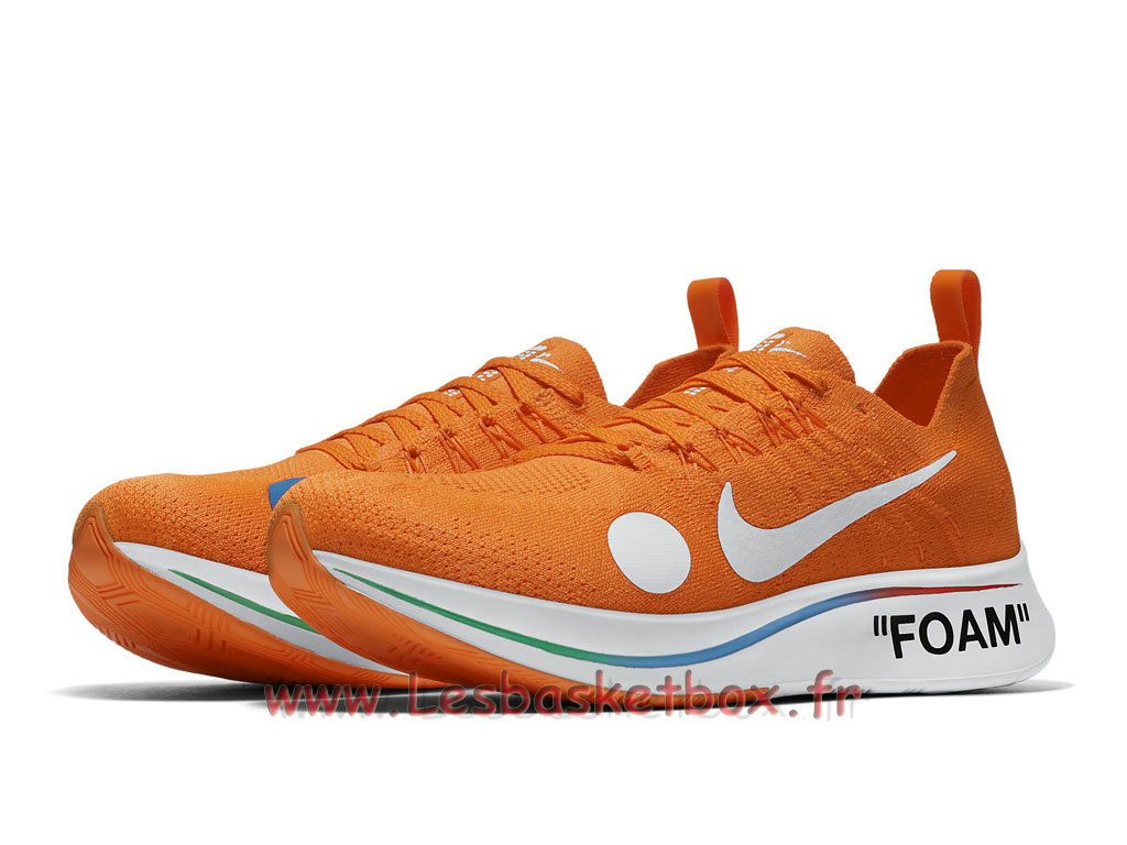 finest selection 491c3 3165d ... Off-White Nike WMns Zoom Fly Mercurial Flyknit Volt AO2115 800F Chaussures  Pour Femme enfant ...