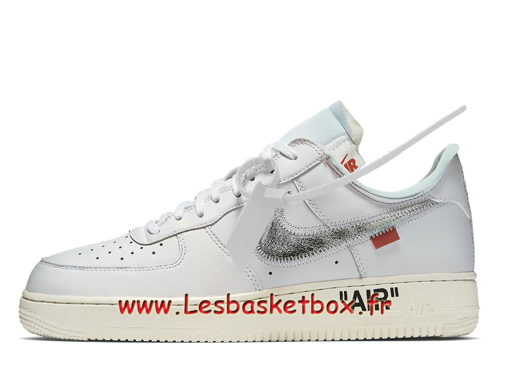 Off-White x Nike Air Force 1 ComplexCon AO4297_100 Chaussures Officiel Prix Pour Homme