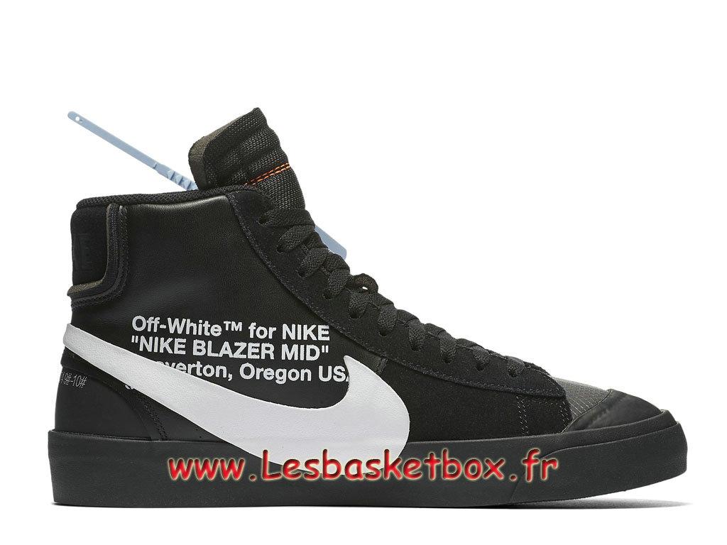Off White x Nike Blazer Mid Black AA3832_001 Chaussures Officiel pas Cher Pour Homme 1811051747 Officiel Nike Basket Pour Homme Et Femme A Vendre
