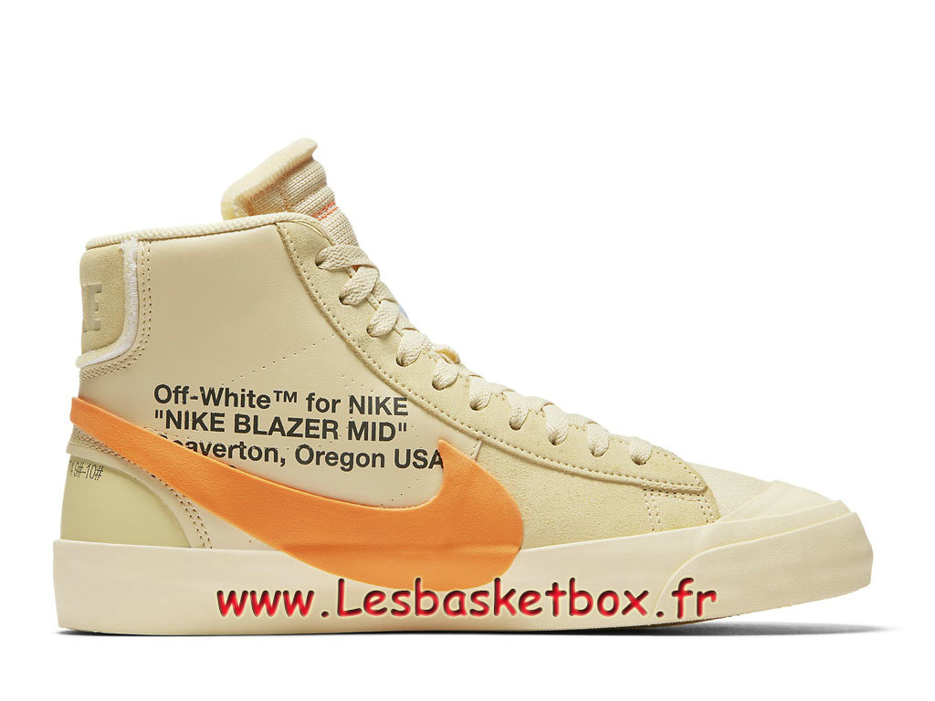 info for c7be6 2edd2 ... Off-White x Nike Blazer Mid Vanilla AA3832700 Chaussures Nike  SportWear Pas cher Pour Homme ...