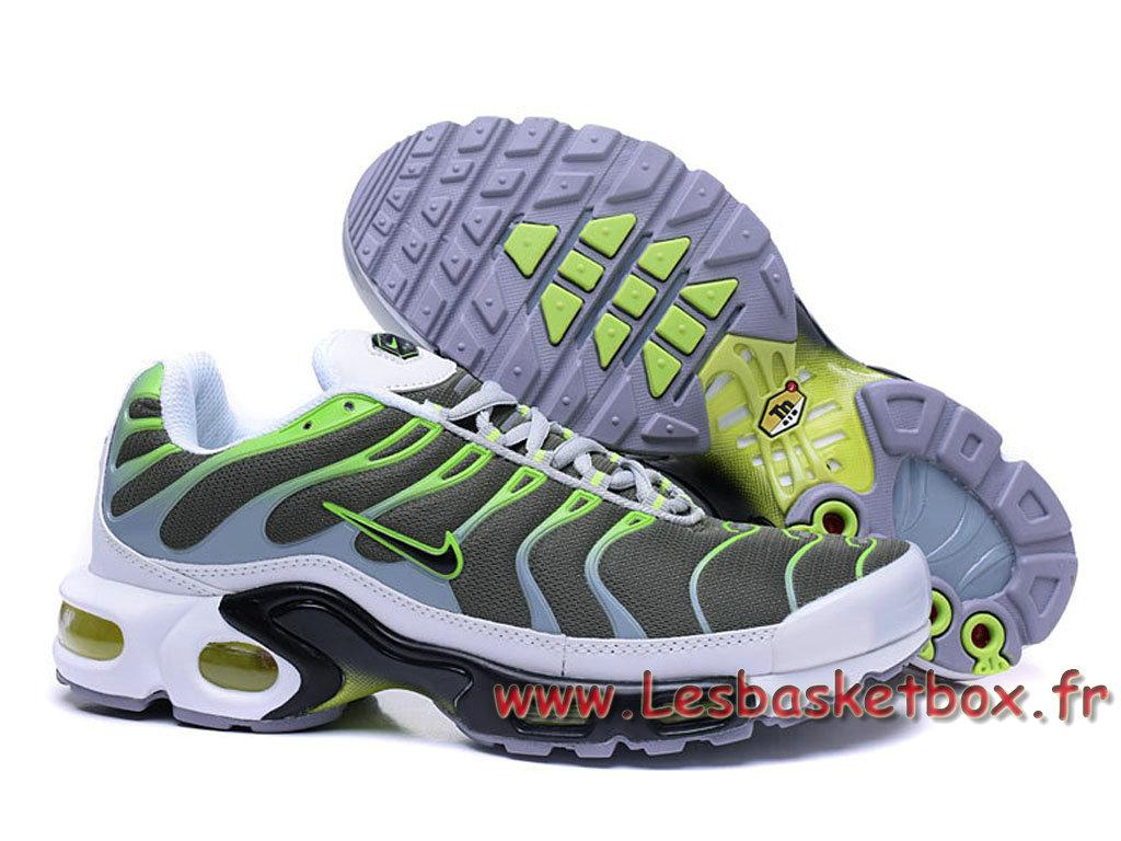 chaussures de sport 5507c 8f6a2 Nike Air GreyVert Pour prix Homme Plus Chausport Max Nike Tn ...