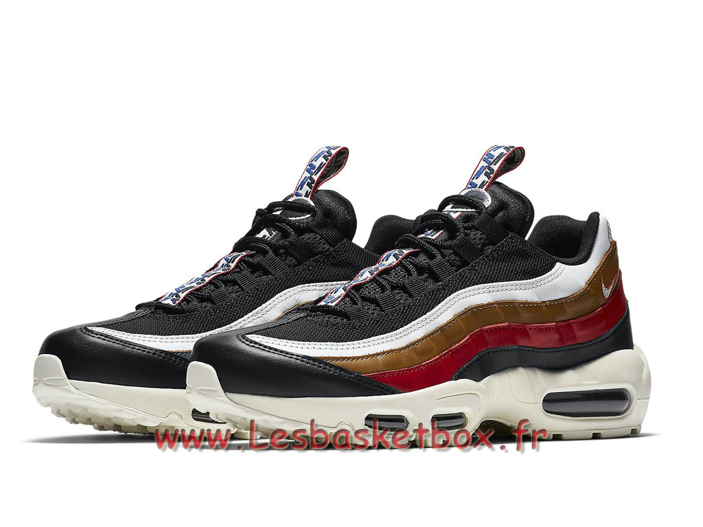 ... Run Nike Air Max 95 TT Navy Rouge Marron AJ4077_002 Chaussures Nike Officiel Pour Homme ...