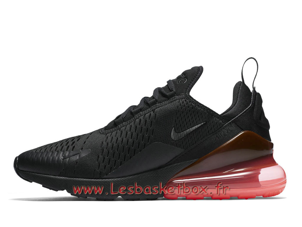 Running Nike Air Max 270 Hot Punch AH8050_010 Chaussures NIke Officiel Pour Homme Noires ...