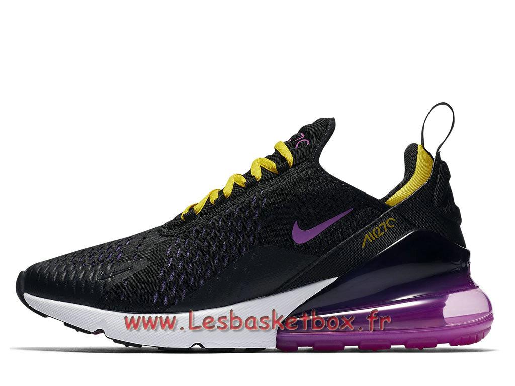 Running Nike Air Max 270 Hyper Grape AH8050_006 Chaussures 2018 Pas cher Pour Homme Noires 1803201450 Officiel Nike Basket Pour Homme Et Femme A