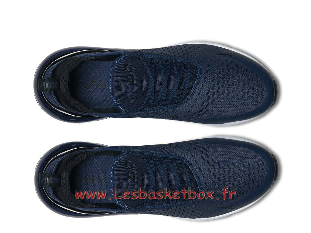 promo code 79a6b 26734 ... Running Nike Air Max 270 Midnight Navy Black AH8050 400 Chaussures  Officiel Pas cher Pour Homme Bleu ...