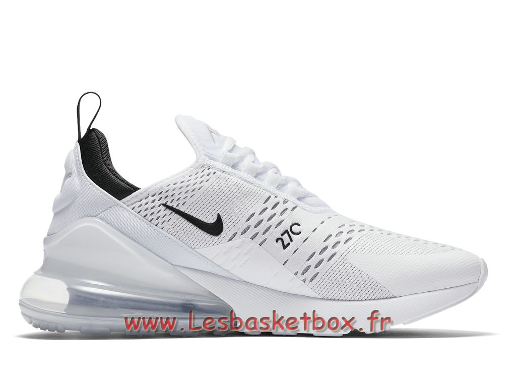 the best attitude 55d6b 5eec5 ... Running Nike Air Max 270 White Bule AH8050_100 Chaussures Nike Basket  Pour Homme Blanc ...