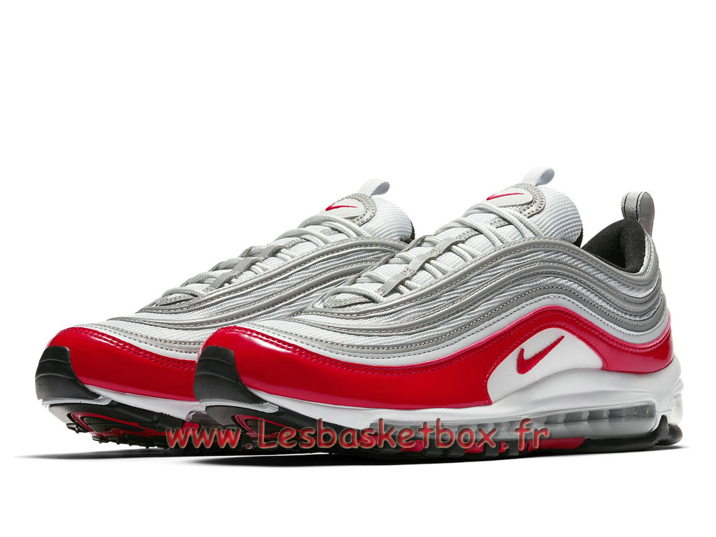 ... Running Nike Air Max 97 AM1 OG Inspired 921826_009 Chaussures Nike officiel 2018 Pour Homme Gris ...