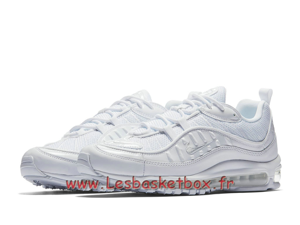 Running Nike Air Max 98 Pure Platinum 640744_106 Chaussures Nike 2018 Pour Homme Blanc 1803081437 Officiel Nike Basket Pour Homme Et Femme A
