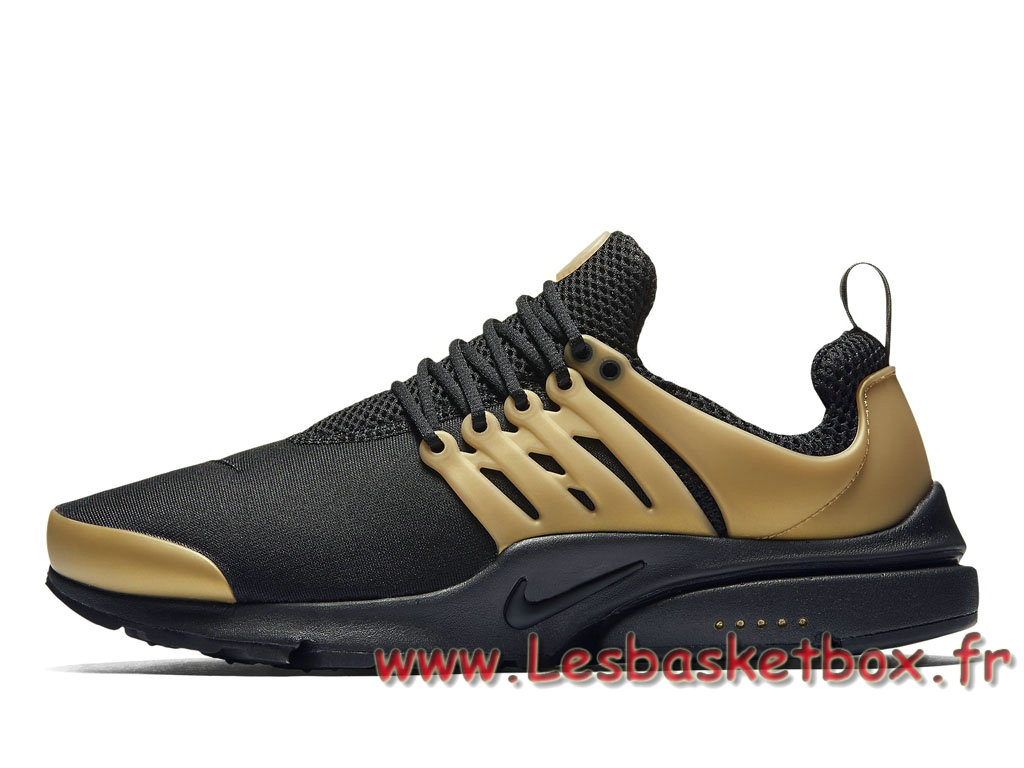 free shipping 31d64 c53f0 Running Nike Air Presto Essential Black Gold Pack 848187007 Homme Nike Pas  chere Or ...