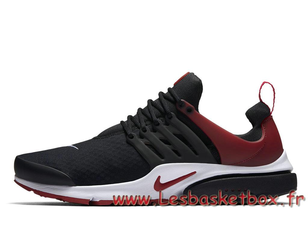 Running Nike Air Presto Essential Black Red 848187_002 HOmme Basket Nike  Prix - 1705300853 - Officiel Nike Basket Pour Homme Et Femme A Vendre En  Bas ...