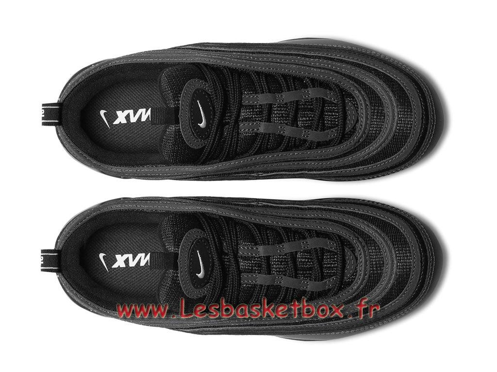 297328ee6f2 ... Running Nike Air VaporMax 97 Black Reflect AJ7292 001H Chaussuers Nike  Pas cher Pour Homme noires ...
