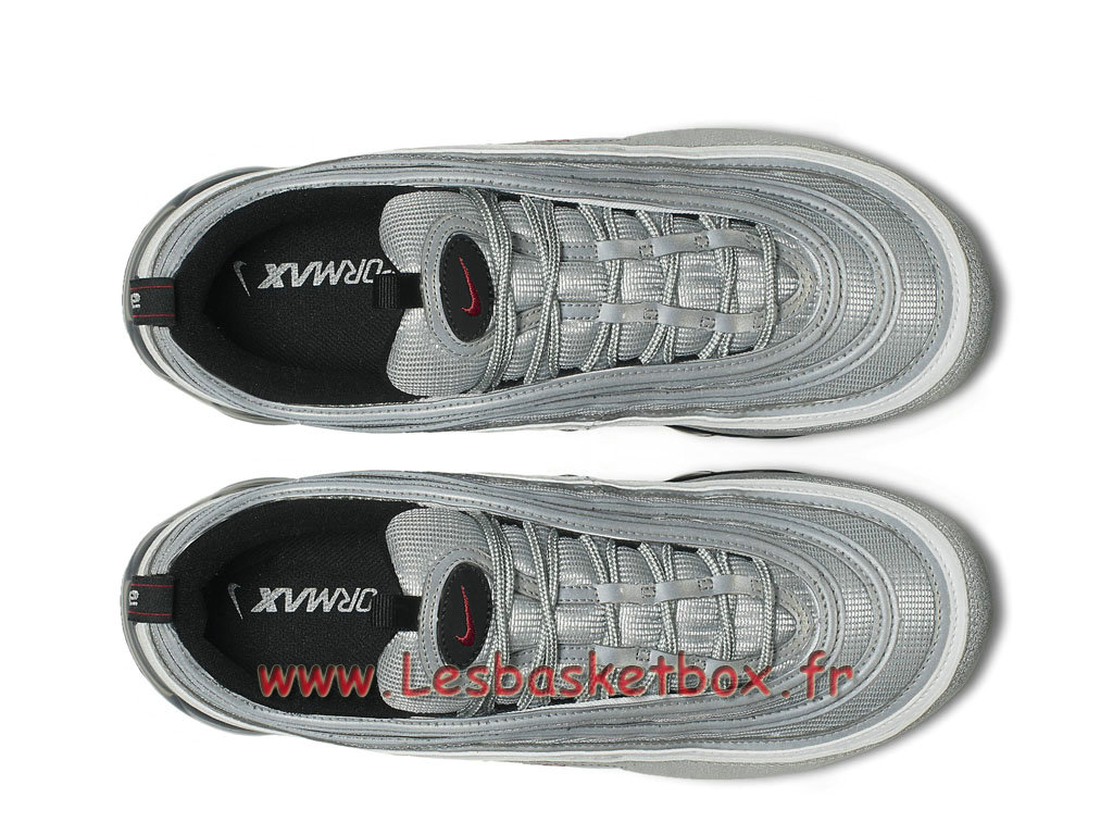 ... Running Nike Air VaporMax 97 Silver Bullet AJ7291_002 Chaussures Nike  Basket Pour Homme silver ...
