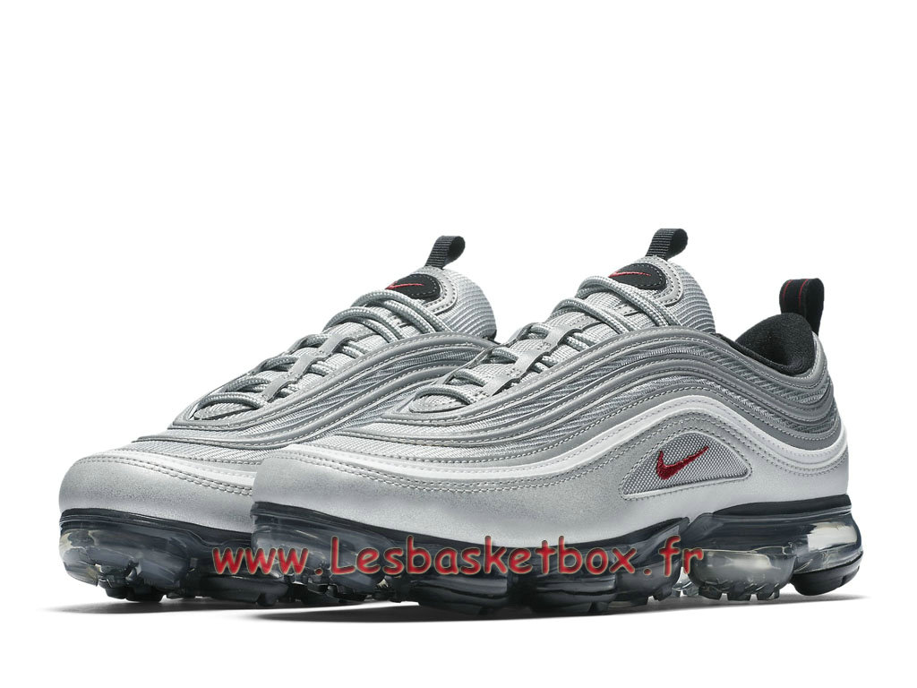 f299a99ea414 ... Running Nike Air VaporMax 97 Silver Bullet AJ7291_002 Chaussures Nike  Basket Pour Homme silver ...