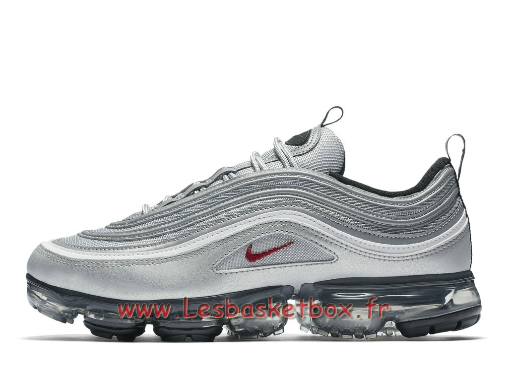 Running Nike Air VaporMax 97 Silver Bullet AJ7291_002 Chaussures Nike Basket Pour Homme silver ...