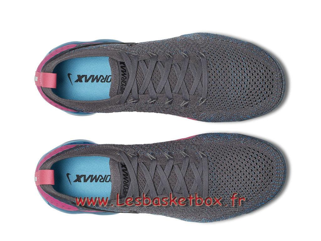 best sneakers 889f1 1aab2 ... Running Nike Air VaporMax Flyknit 2.0 Gunsmoke Blue Orbit 942842 004 Chaussures  Nike Sportwear Pour Homme Gris ...