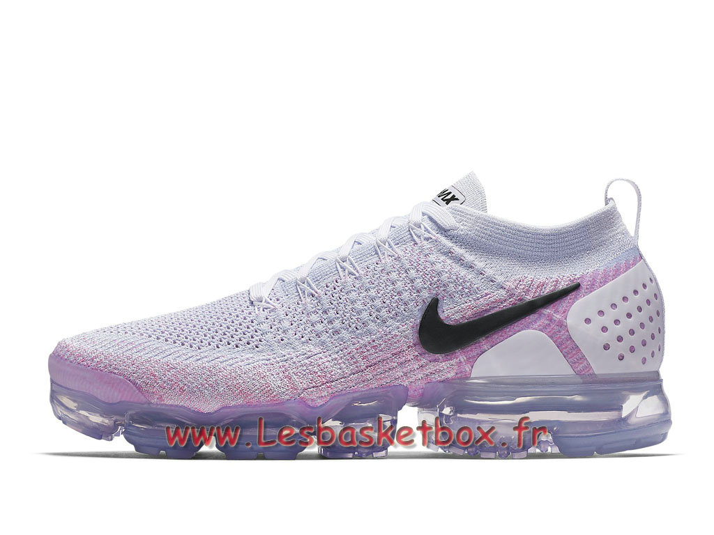 c638f0fab4f0 Running Nike Air VaporMax Flyknit 2.0 Pink Beam 942842 102 Chaussures Nike  Prix Pour homme Pourpre ...