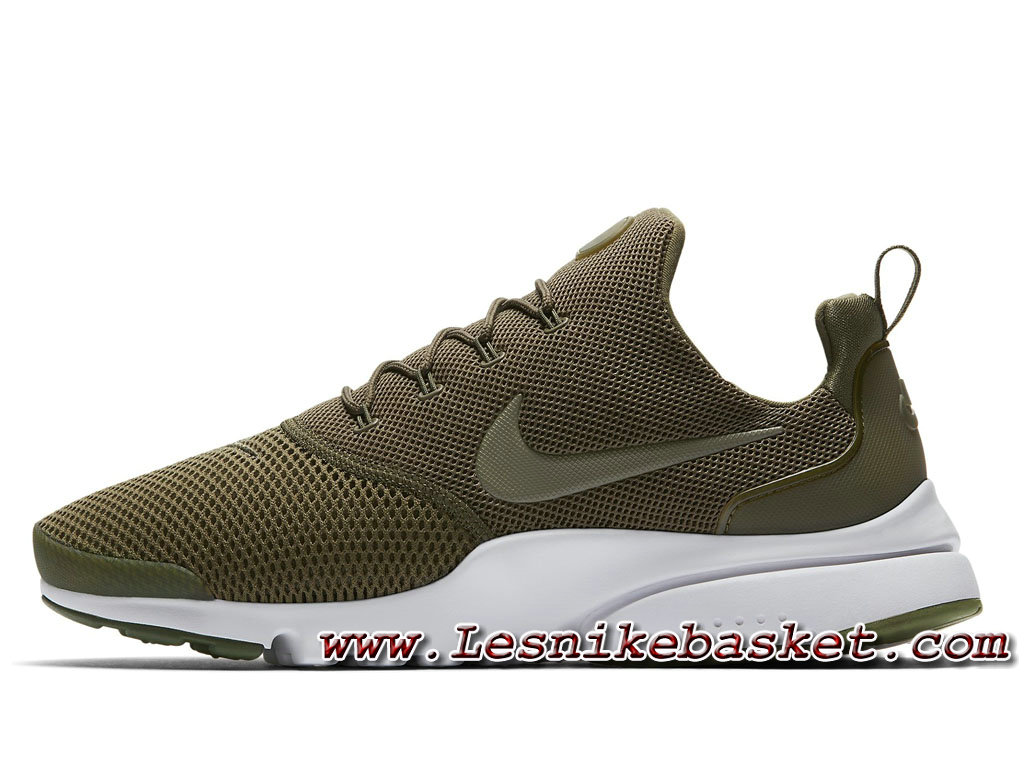 purchase cheap 28f34 90976 Running Nike Presto Fly Medium OliveWhite 908019201 Homme Nike Pas Chere  Blanc ...