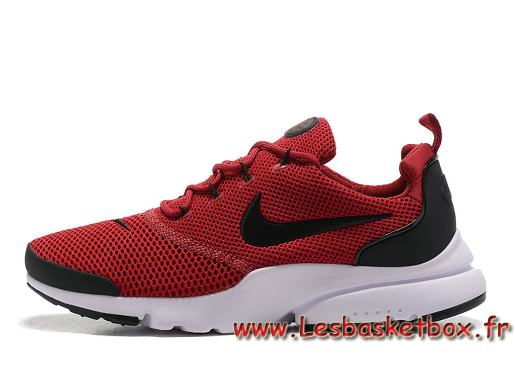 check out 887e7 a916f Running Nike Presto Fly Rouge Blanc Noires 908019 208 Homme nike run paris  Pour Chaussures ...