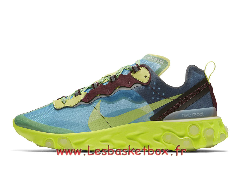 Running Nike React Element 87 Undercover Lakeside BQ2718_400 Chaussure Officie Pirx pour Homme