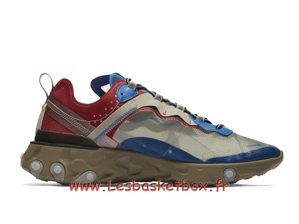 premium selection 96105 81731 ... Running Nike React Element 87 Undercover Light Beige Chalk BQ2718 200  Chaussure Nike Prix pour Homme ...