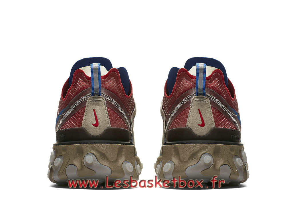 new style f2f9c 2085a ... Running Nike React Element 87 Undercover Light Beige Chalk BQ2718 200  Chaussure Nike Prix pour Homme