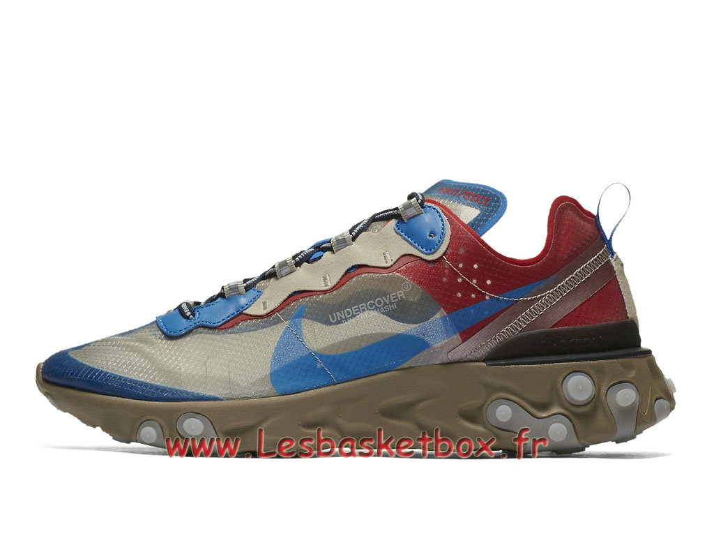 86b68954d8f Running Nike React Element 87 Undercover Light Beige Chalk BQ2718 200 Chaussure  Nike Prix pour Homme ...
