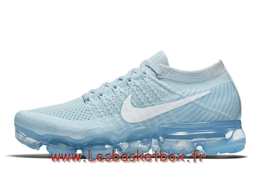 innovative design fb5ad c6183 Running Nike WMNS Air Vapormax Flyknit Platinum Glacier Blue 849557-404 Chaussures  nike Prix Pour ...