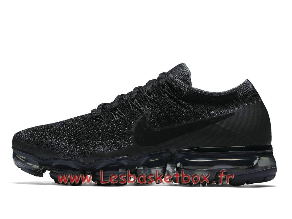 Running Nike Wmns Air Vapormax Flyknit Triple Black 849557_006 Chaussures  Nike 2017 Pour Femme/enfant - 1710011214 - Officiel Nike Basket Pour Homme  ...