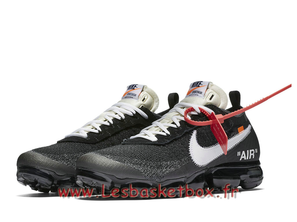 ... Running Off-White Nike Air VaporMax AA3831_001 Chaussures nike Pas cher pour Homme oires ...