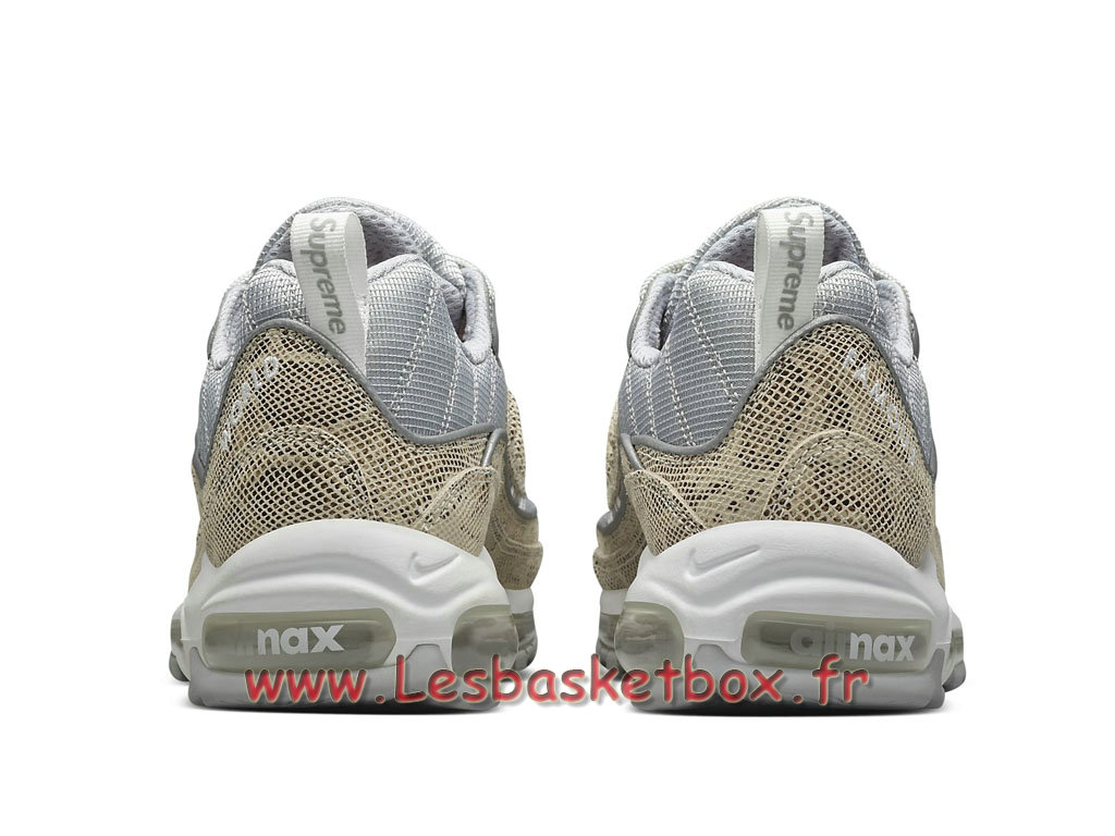 new concept 510d7 420fb ... Running Supreme x Nike Air max 98 Preview 844694_100 Sheos Officiel Nike  For Men´s