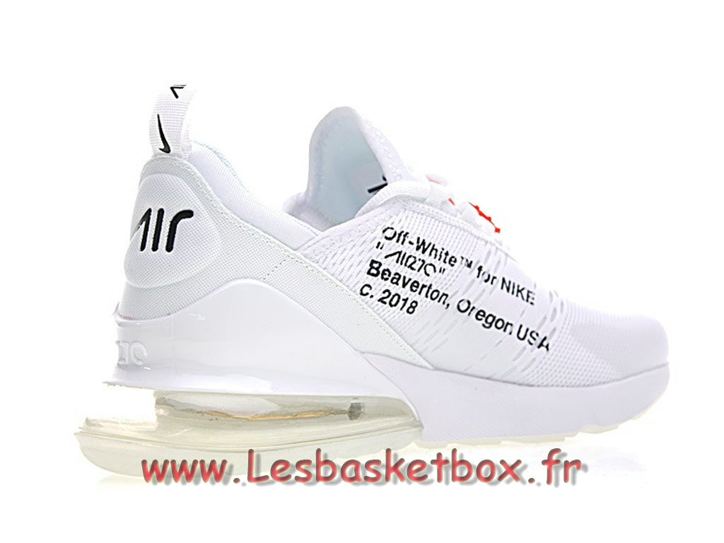 newest 0b42a ee55e ... Running White Off X Nike Air Max 270 White Bule AH8050_100 Chaussures  Nike Sportwear pour Homme ...