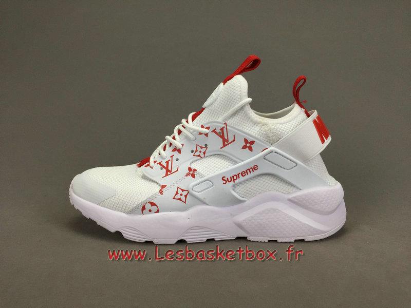 37b587591aceb ... Running X LV Supreme Nike air Huarache Ultra Blanc Chaussures Supreme  Nike Urh Pour Homme ...