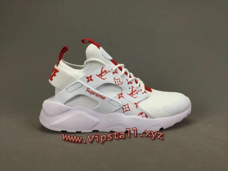 39f753038bb3 ... Running X LV Supreme Nike air Huarache Ultra Blanc Chaussures Supreme  Nike Urh Pour Homme ...