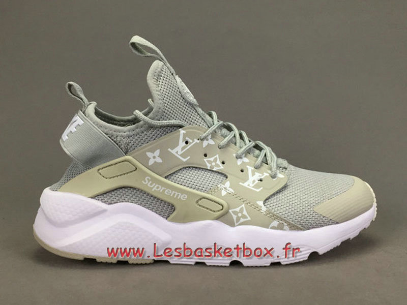 sale retailer 8b744 ef3f6 ... Running X LV Supreme Nike air Huarache Ultra Gris Chaussures Supreme  Nike Urh Pour Homme ...