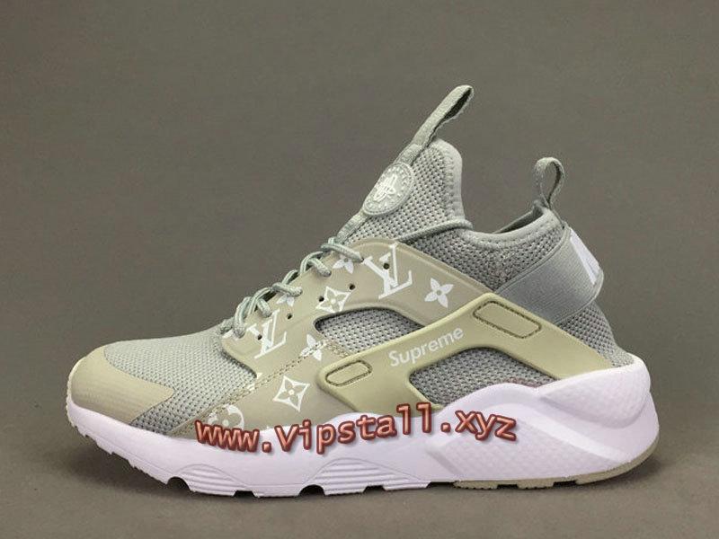 sale retailer ff161 2a179 ... Running X LV Supreme Nike air Huarache Ultra Gris Chaussures Supreme  Nike Urh Pour Homme ...
