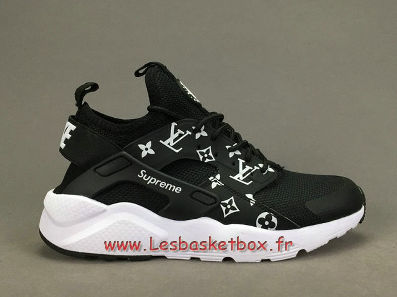 quality design e73c6 223a2 ... Running X LV Supreme Nike air Huarache Ultra Noires Chaussures Supreme Nike  Urh Pour Homme ...