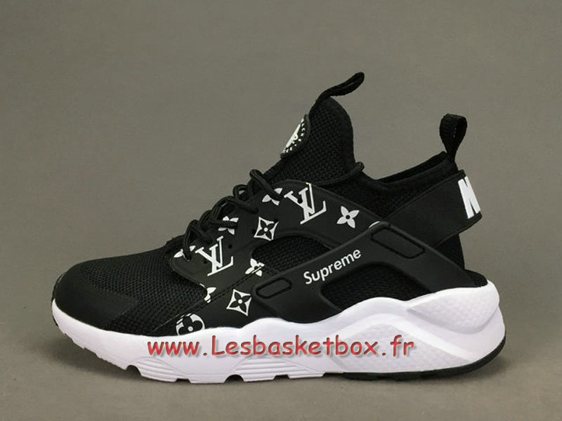 69756468da34 Running X LV Supreme Nike air Huarache Ultra Black men´s Supreme Nike Urh  SHoes