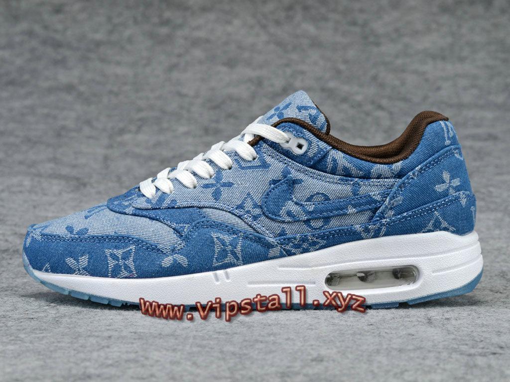 nouveau concept 721b3 20eea Running X Supreme X Nike Air Max 1 Denim Blue Chaussures Nike Officiel Pour  Homme - 1711111299 - Officiel Nike Basket Pour Homme Et Femme A Vendre En  ...