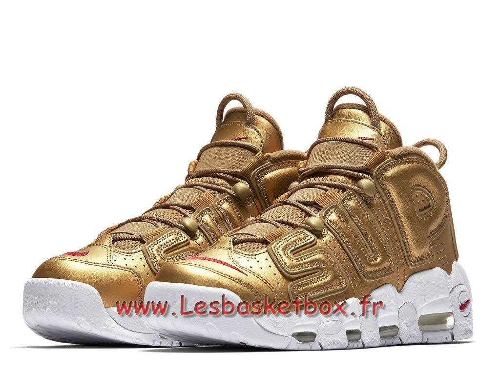 X Officiel Femme Air Pour 1708101146 Or Vendre 700 Homme Et En Uptempo Gold Basket A More 902290 Supreme Nike Metallic LAqj354R