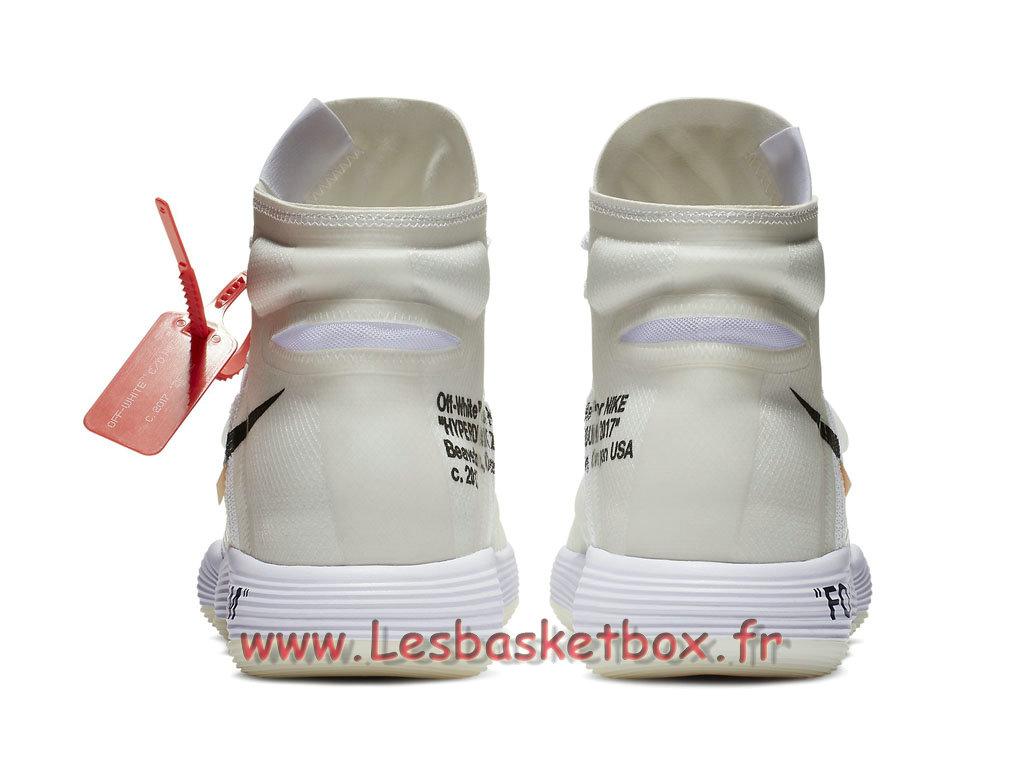 e891530bec8 ... The 10 Nike Air Hyperdunk Flyknit Off-White AJ4578 100 Chaussures nike  basket Pour Homme Blanc