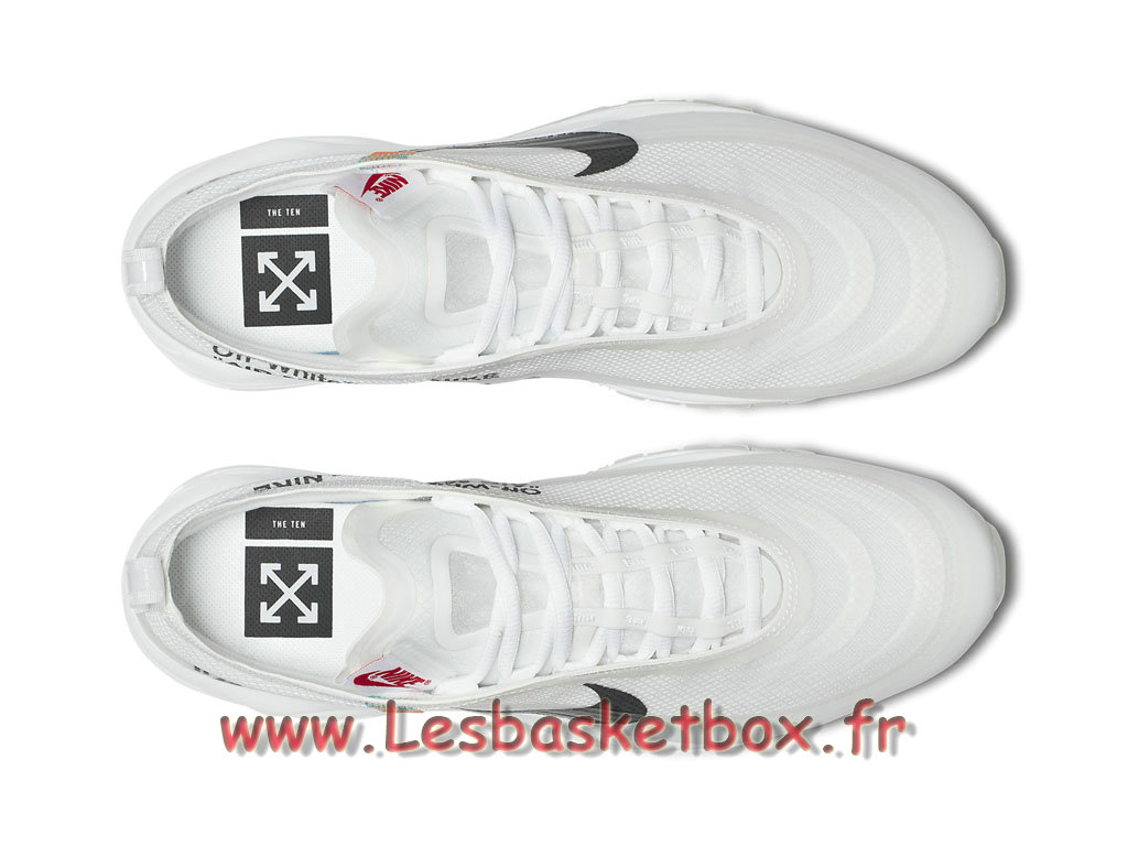 on sale 8090d d16a6 ... The 10 Nike Wmns x Off White Air Max 97 AJ4585 100F Chaussures Basket  Nike Pour Femme ...