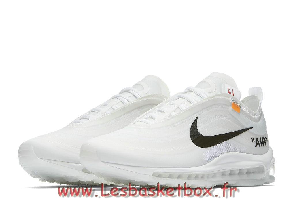 The 10 Nike Wmns x Off White Air Max 97 AJ4585_100F Chaussures Basket Nike Pour FemmeEnfant Blanc 1804231481 Officiel Nike Basket Pour Homme Et